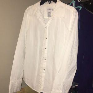 Medium Calvin Klein Jeans White Dress Shirt